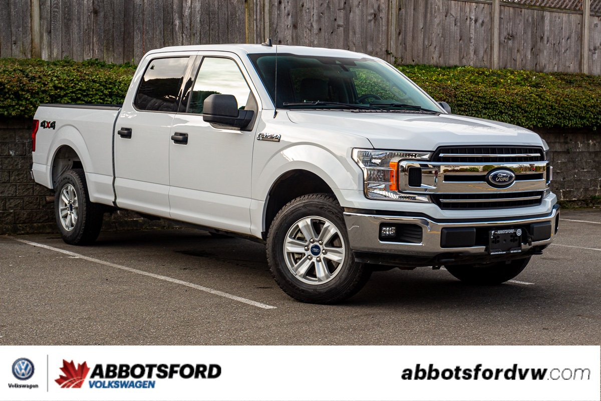 Pre-Owned 2019 Ford F-150 XLT 4x4, CREW CAB, ONE OWNER, NO ACCIDENTS, LOW KM, B.C. TRUCK!