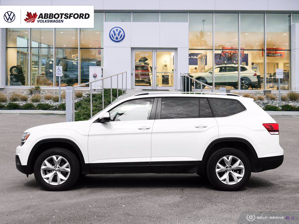 Pre-Owned 2018 Volkswagen Atlas Comfortline 4MOTION AWD, ONE OWNER, NO ACCIDENTS, B.C.VEHICLE!
