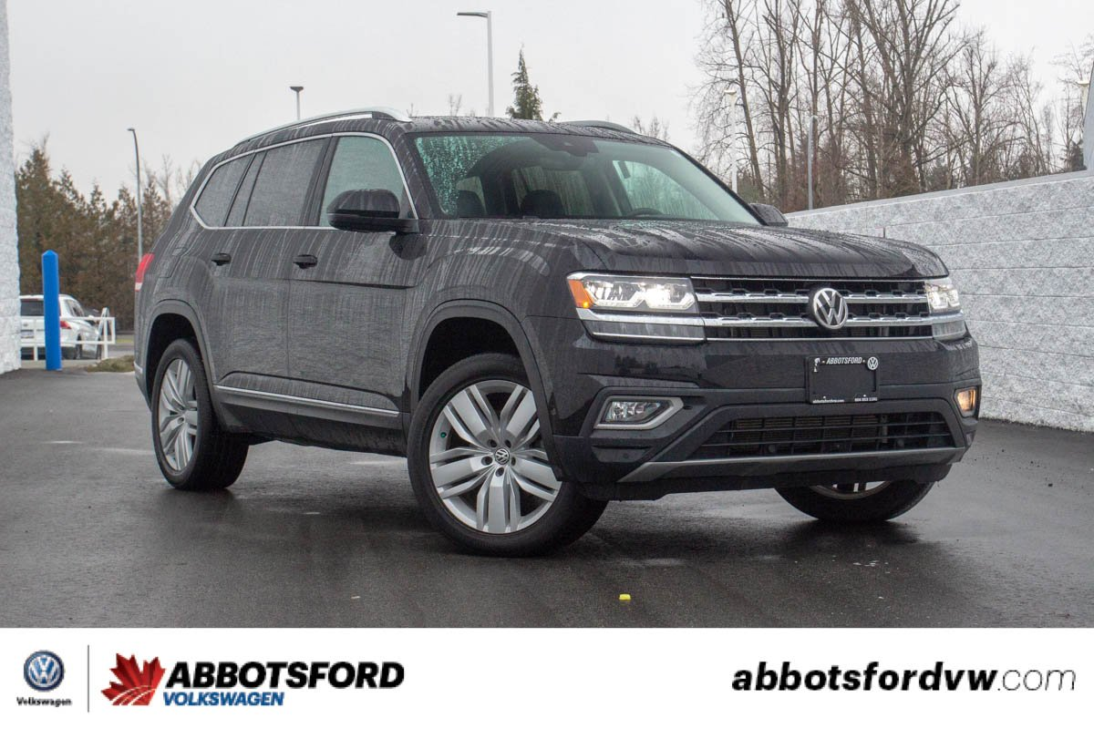 Pre-Owned 2018 Volkswagen Atlas Execline ONE OWNER, LOCAL CAR, GREAT CONDITION!