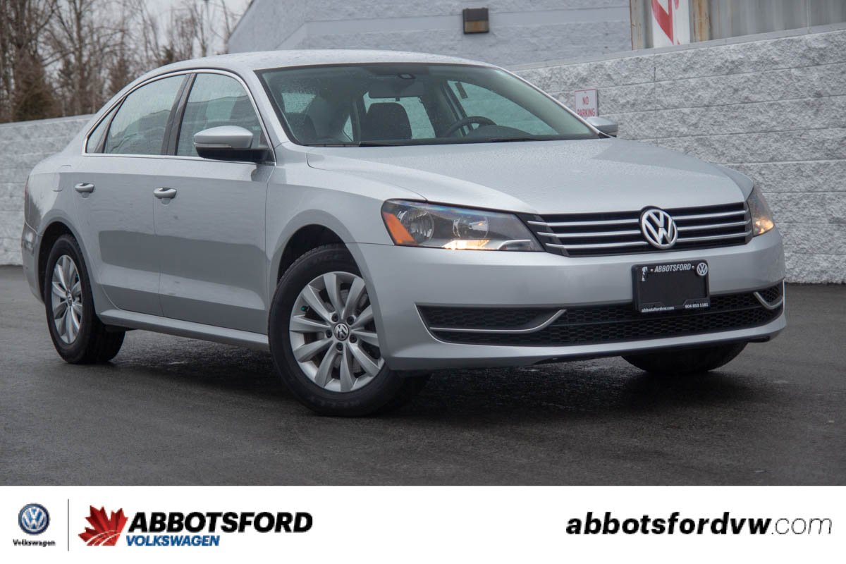 Certified Pre-Owned 2015 Volkswagen Passat Trendline LOW KM, NO ACCIDENTS, BC CAR
