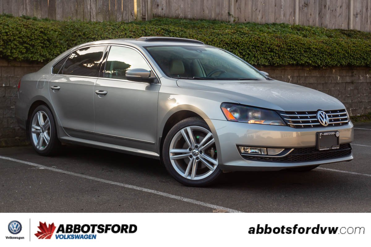 Pre-Owned 2014 Volkswagen Passat Highline TDI GREAT CONDITION, NO ACCIDENTS, B.C. CAR!