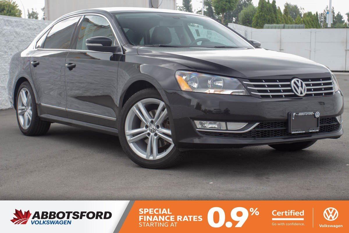 Certified Pre-Owned 2015 Volkswagen Passat Highline ONE OWNER, NO ACCIDENTS, LOCAL CAR!