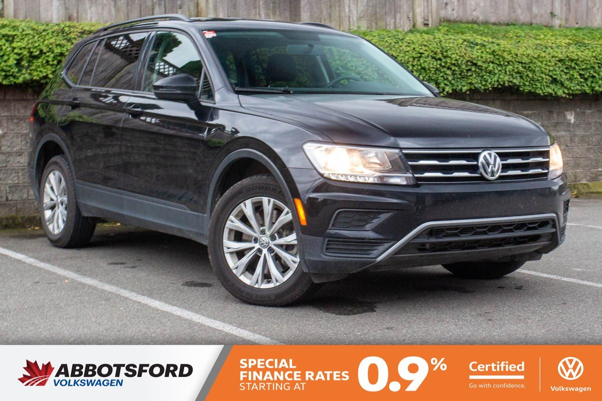 Certified Pre-Owned 2019 Volkswagen Tiguan Trendline GREAT CONDITION, NO ACCIDENTS, B.C. CAR!