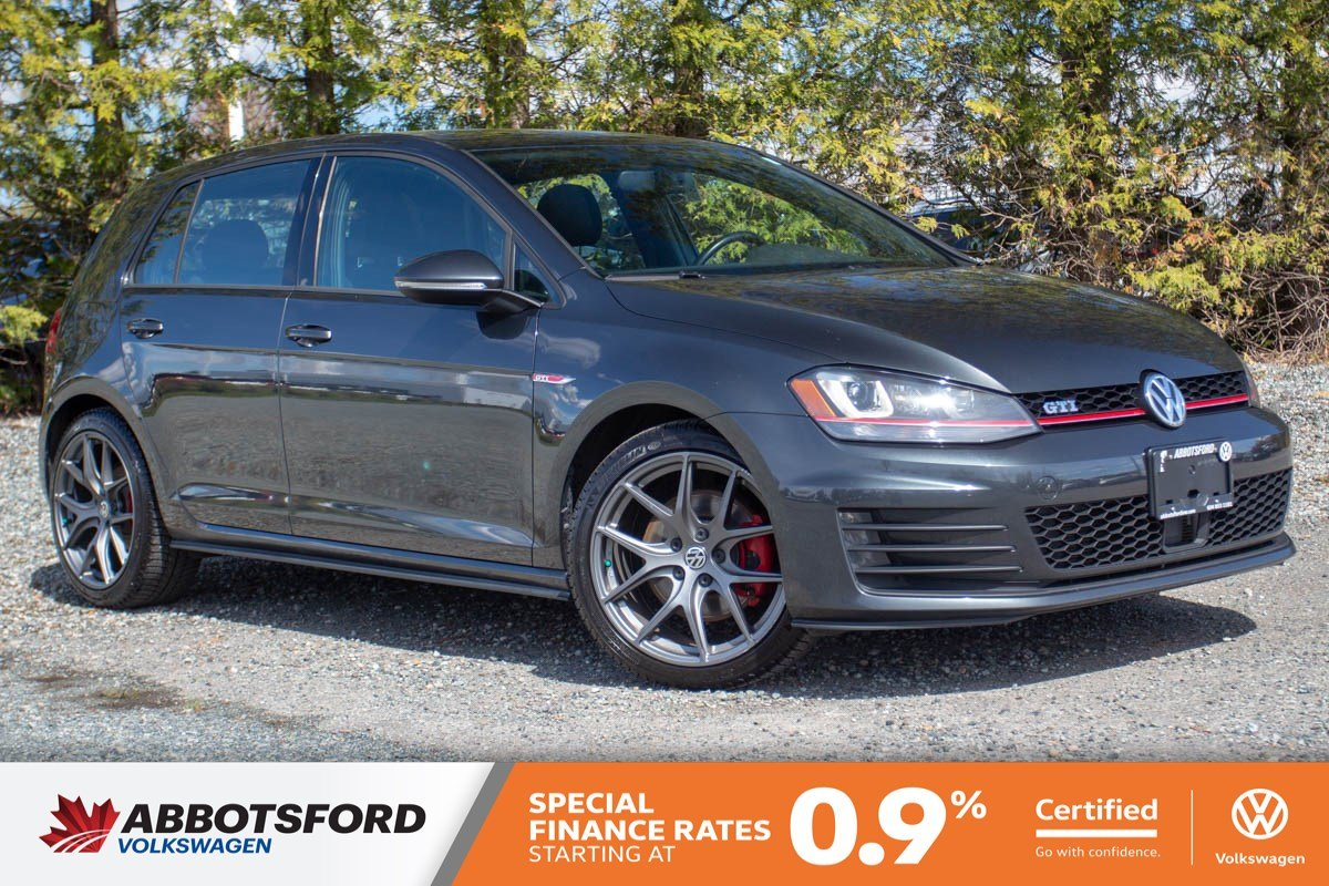 Certified Pre-Owned 2015 Volkswagen Golf GTI Autobahn ONE OWNER, NO ACCIDENTS, BC CAR!