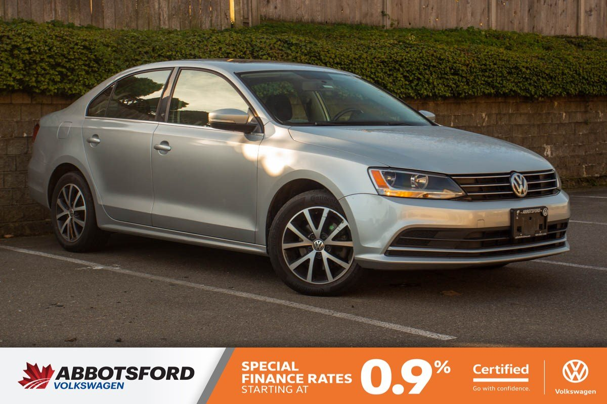 Certified Pre-Owned 2015 Volkswagen Jetta Sedan Comfortline GREAT PRICE, WELL EQUIPPED, LOCAL CAR!