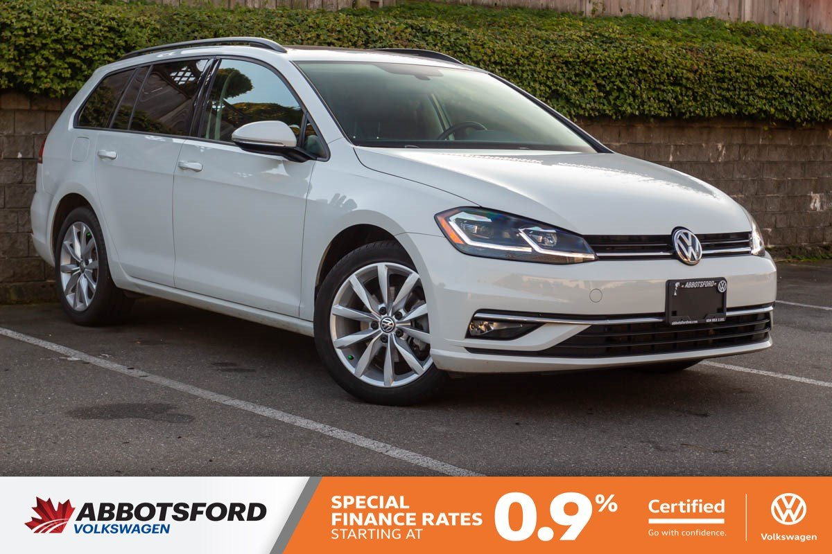 Certified Pre-Owned 2018 Volkswagen Golf SportWagen