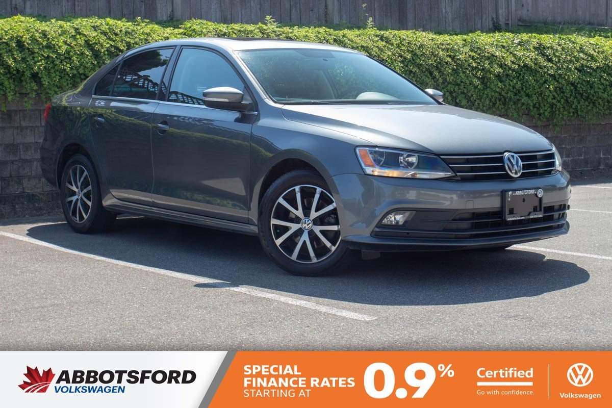 Certified Pre-Owned 2015 Volkswagen Jetta Sedan Comfortline TDI LOCAL CAR, NO ACCIDENTS, GREAT PRICE!
