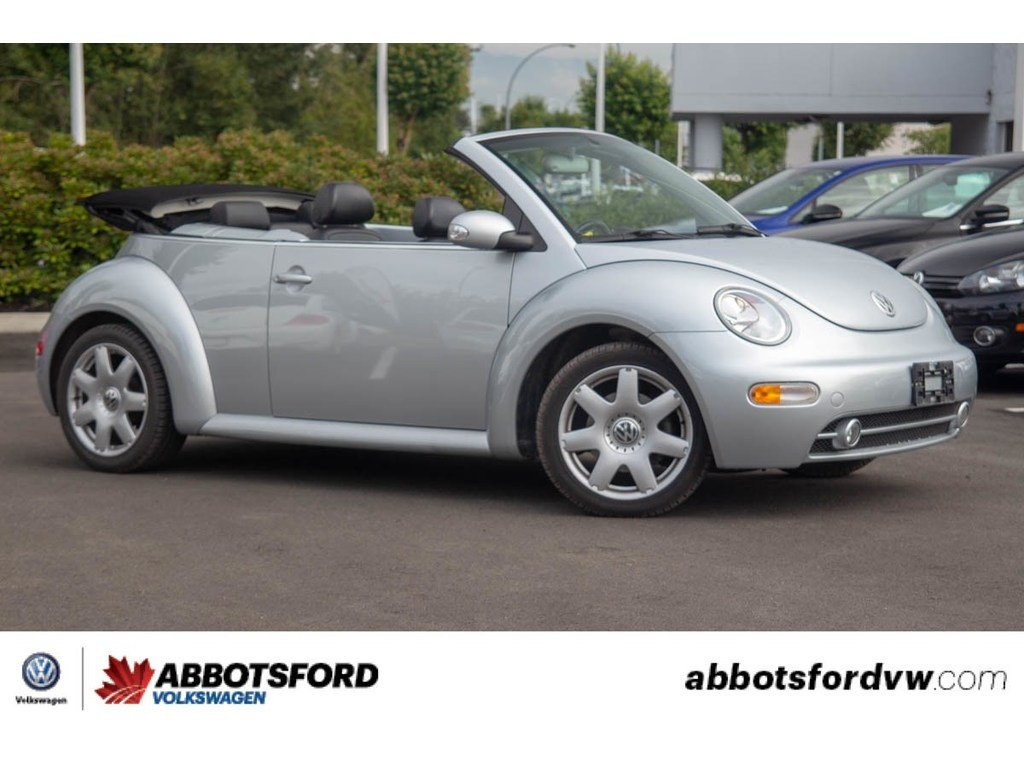 Pre-Owned 2003 Volkswagen New Beetle GLX