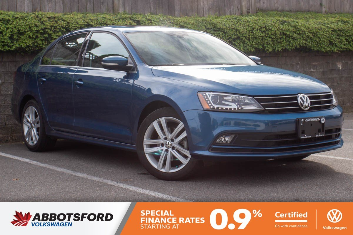 Certified Pre-Owned 2016 Volkswagen Jetta Sedan Highline ONE OWNER, NO ACCIDENTS, LOCAL CAR!