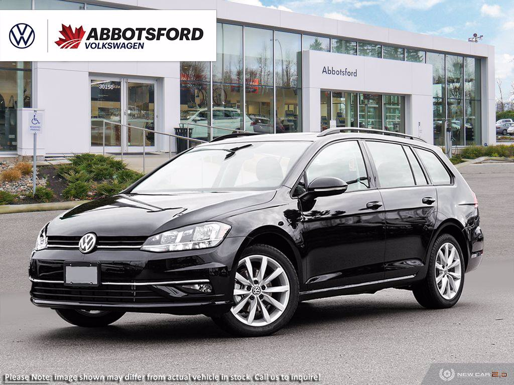 New 2019 Volkswagen Golf SportWagen Highline