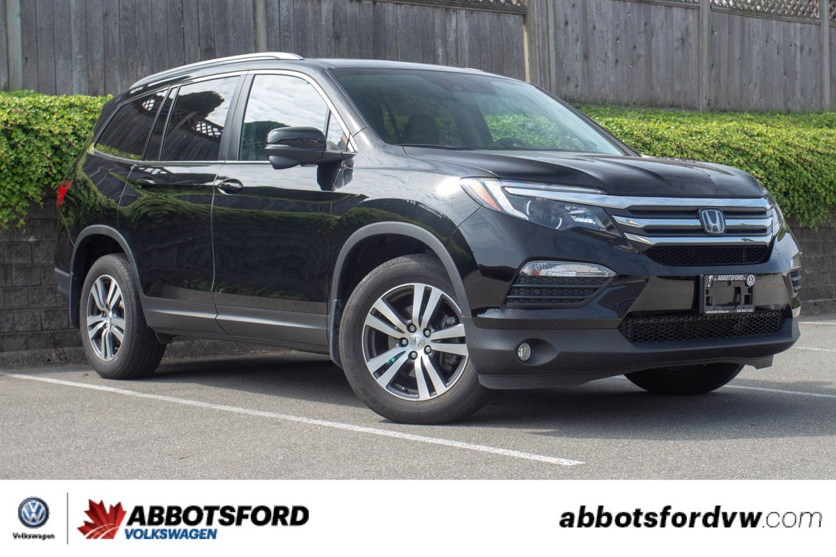 Pre-Owned 2017 Honda Pilot EX-L AWD, REAR DVD, SINGLE OWNER, NO ACCIDENTS, LOCAL VEHICLE!