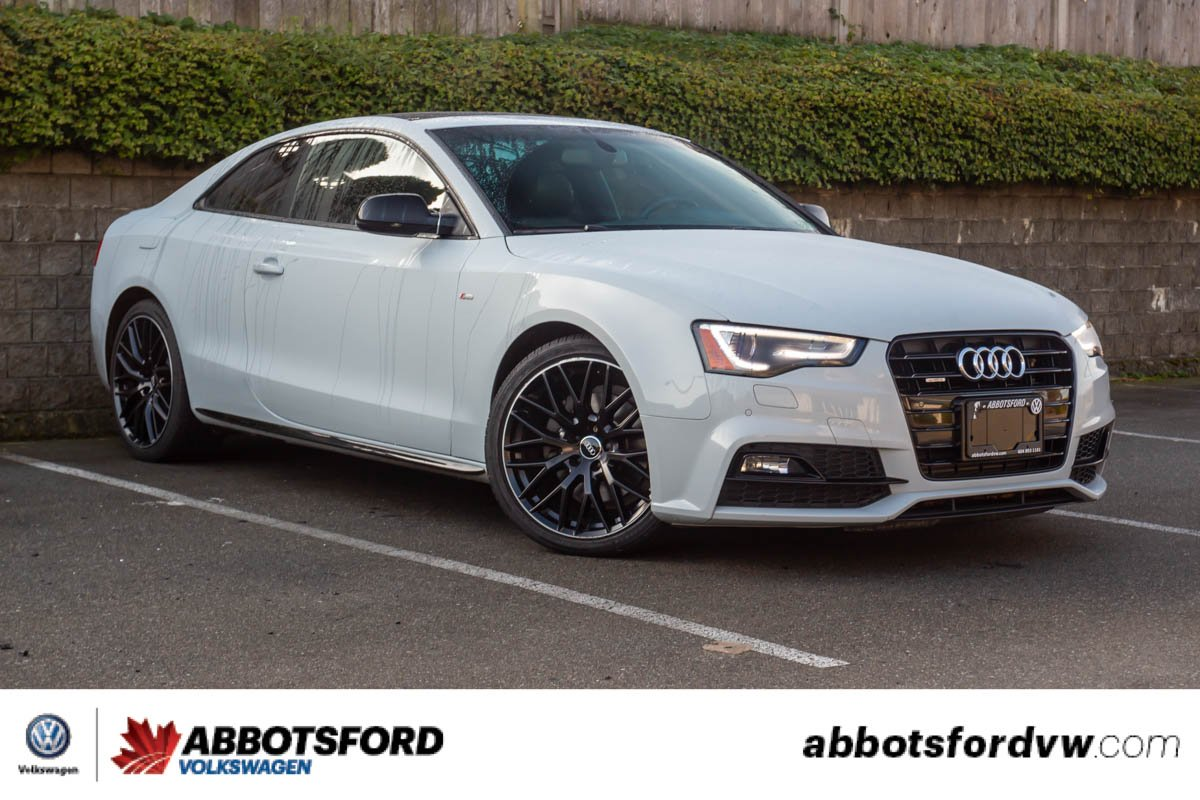 Pre-Owned 2016 Audi A5 Progressiv plus AWD, LOW KM, GREAT PRICE, LOCAL CAR!