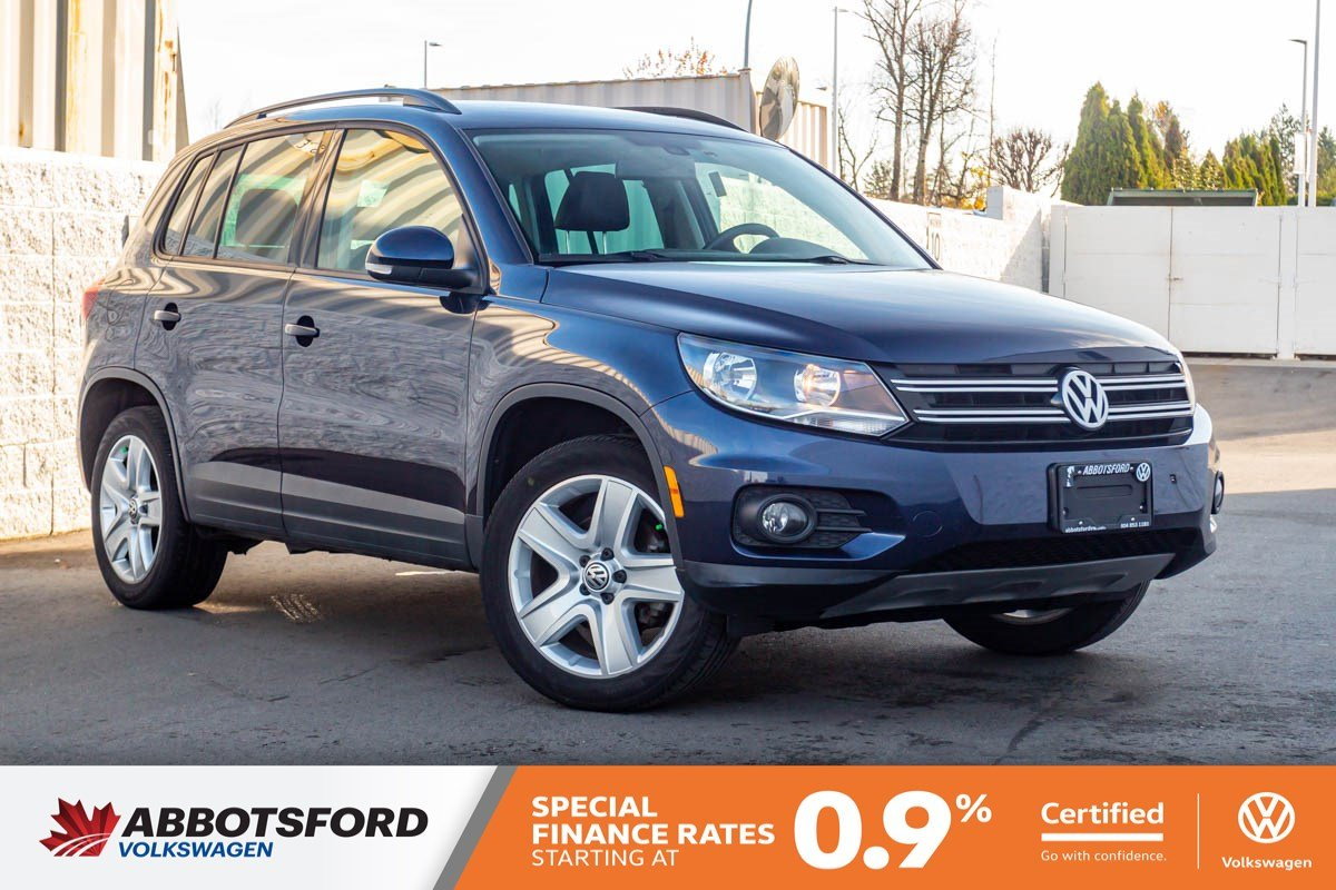 Certified Pre-Owned 2016 Volkswagen Tiguan Highline 4MOTION AWD, ONE OWNER, GREAT CONDITION, LOCAL CAR!
