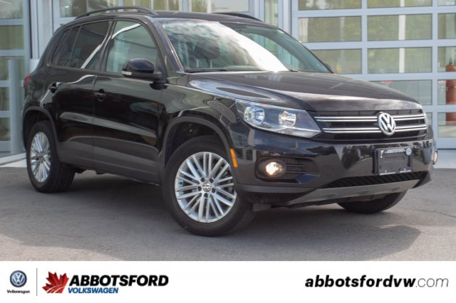 Pre-Owned 2015 Volkswagen Tiguan Trendline SINGLE OWNER, LOCAL CAR, SUPER LOW KM!