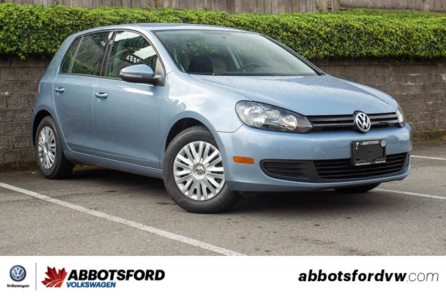 Pre-Owned 2010 Volkswagen Golf Trendline SINGLE OWNER, B.C. CAR, SUPER LOW KILOMETRES!