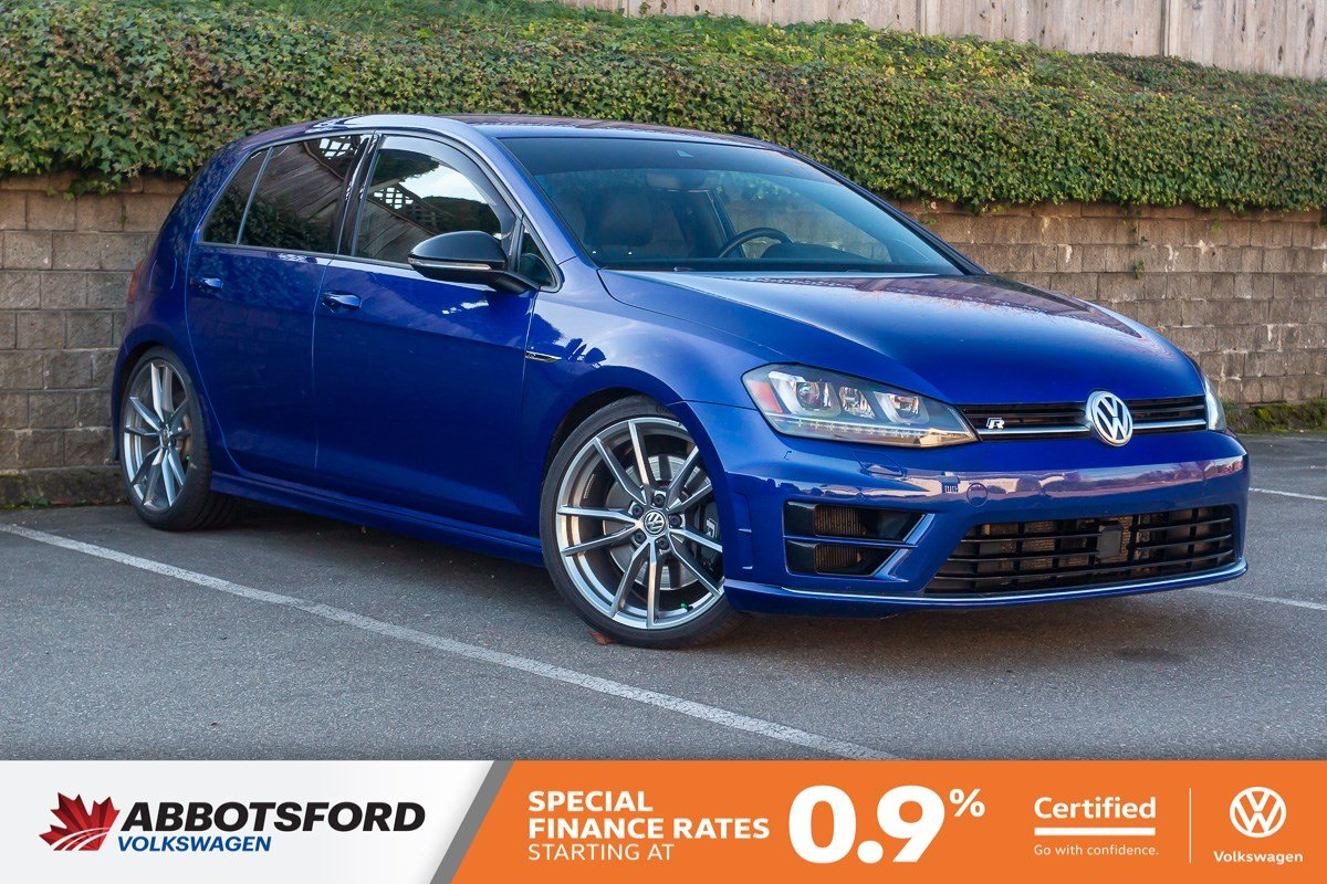 Certified Pre-Owned 2017 Volkswagen Golf R 4MOTION AWD, NO ACCIDENTS, GREAT PRICE, LOCAL CAR!