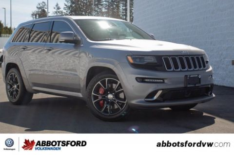 Pre-Owned 2015 Jeep Grand Cherokee SRT LOCAL, 4X4, THRILL TO DRIVE!