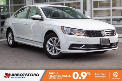 Certified Pre-Owned 2017 Volkswagen Passat Trendline+ ONE OWNER, GREAT CONDITION, LOCAL CAR!