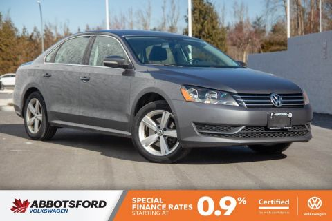 Certified Pre-Owned 2015 Volkswagen Passat Comfortline ONE OWNER, LOW KM, LOCAL CAR