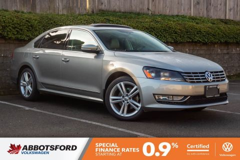 Certified Pre-Owned 2014 Volkswagen Passat Highline TDI GREAT CONDITION, NO ACCIDENTS, B.C. CAR!