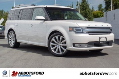 Pre-Owned 2016 Ford Flex Limited w/EcoBoost BC CAR, FULLY LOADED, SEATING FOR 7!