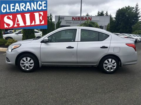 Certified Pre-Owned 2017 Nissan Versa 1.6 S+