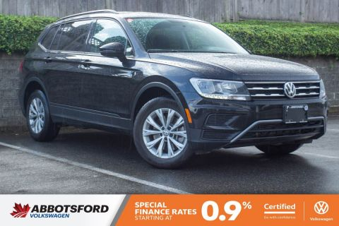 Certified Pre-Owned 2019 Volkswagen Tiguan Trendline 4MOTION AWD, NO ACCIDENTS, GREAT PRICE, GREAT CONDITION!