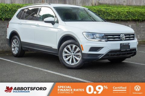 Certified Pre-Owned 2019 Volkswagen Tiguan Trendline 4MOTION AWD, GREAT CONDITION, LOW KM, AWESOME DEAL!