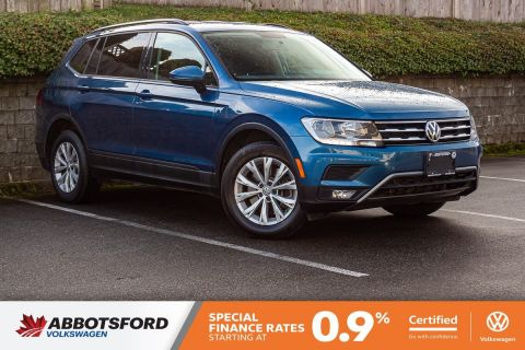 Certified Pre-Owned 2018 Volkswagen Tiguan Trendline 4MOTION AWD, ONE OWNER, NO ACCIDENTS, LOCAL CAR!