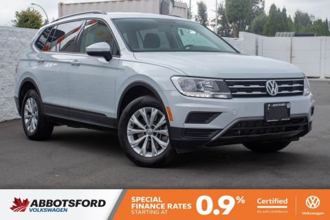 Certified Pre-Owned 2019 Volkswagen Tiguan Trendline 4MOTION AWD, SINGLE OWNER, NO ACCIDENTS, B.C. CAR!