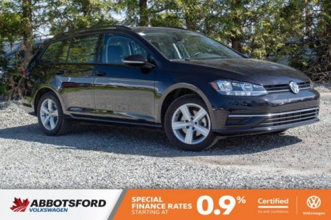 Certified Pre-Owned 2018 Volkswagen Golf SportWagen Trendline AWD, LOW KM, PRACTICALLY BRAND NEW!
