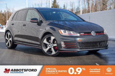 Certified Pre-Owned 2015 Volkswagen Golf GTI Autobahn NO ACCIDENTS, LOCAL CAR, AMAZING VALUE!