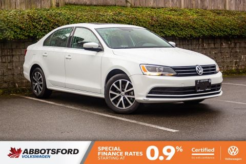 Certified Pre-Owned 2015 Volkswagen Jetta Sedan Comfortline SUNROOF, LOW KILOMETRES, LOCAL CAR!