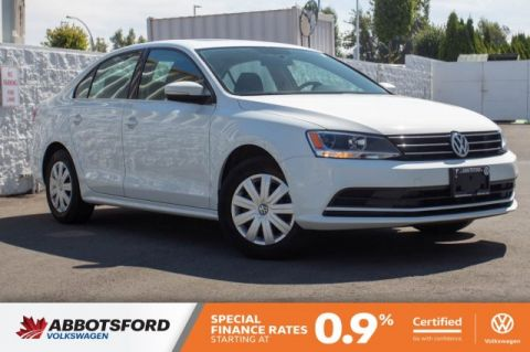 Certified Pre-Owned 2015 Volkswagen Jetta Sedan Comfortline SINGLE OWNER, LOCAL CAR, GREAT DEAL!