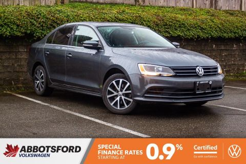 Certified Pre-Owned 2016 Volkswagen Jetta Sedan Comfortline NO ACCIDENTS, SUNROOF, CAR PLAY, LOCAL CAR!