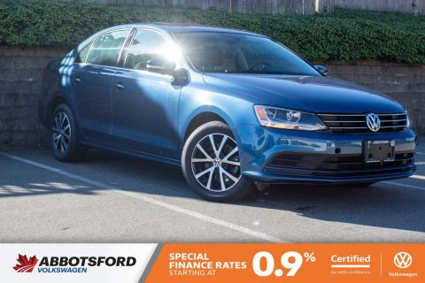 Certified Pre-Owned 2016 Volkswagen Jetta Sedan Comfortline GREAT PRICE, ONE OWNER, LOCAL CAR!