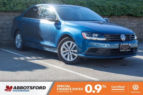 Certified Pre-Owned 2017 Volkswagen Jetta Sedan Wolfsburg Edition LOCAL CAR, GREAT PRICE, VERY WELL EQUIPPED!