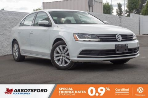 Certified Pre-Owned 2017 Volkswagen Jetta Sedan Wolfsburg Edition GREAT PRICE, LOCAL CAR, WELL EQUIPPED!