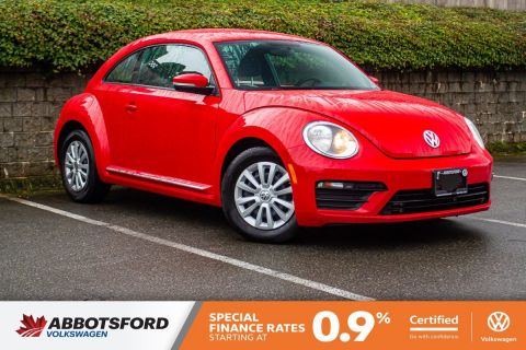 Certified Pre-Owned 2017 Volkswagen Beetle Coupe Trendline BLUETOOTH, HEATED SEATS, LOCAL CAR!