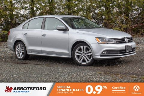 Certified Pre-Owned 2015 Volkswagen Jetta Sedan Highline TDI NO ACCIDENTS, LOW KM, LOCAL CAR!