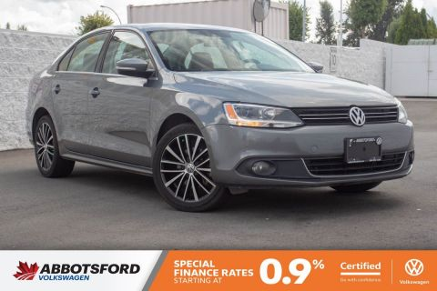 Certified Pre-Owned 2013 Volkswagen Jetta Sedan Highline TDI LOW KM, NO ACCIDENTS, B.C. CAR!