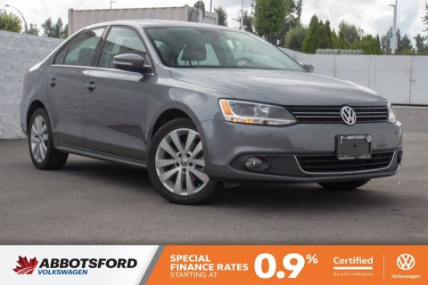Certified Pre-Owned 2013 Volkswagen Jetta Sedan Highline TDI NO ACCIDENTS, LOW KM, B.C. CAR!