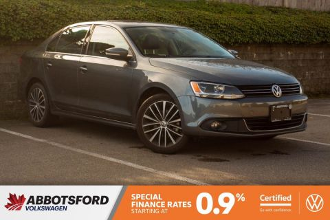 Certified Pre-Owned 2014 Volkswagen Jetta Sedan Highline TDI DIESEL, LOW KM, NO ACCIDENTS, LOCAL CAR!