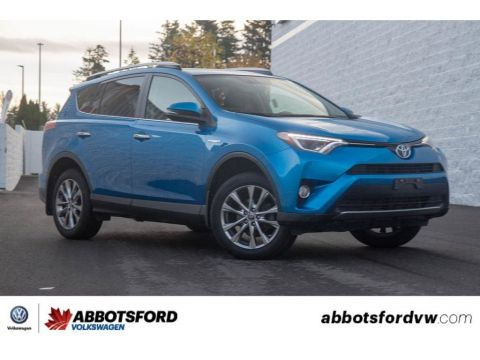 Pre-Owned 2016 Toyota RAV4 Hybrid Limited NO ACCIDENTS, BC CAR, SUPER CLEAN