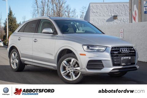 Pre-Owned 2016 Audi Q3 Progressiv NO ACCIDENTS, BC CAR, AWESOME DEAL!