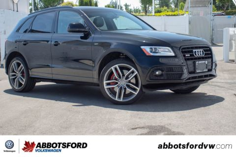 Pre-Owned 2016 Audi SQ5 3.0T Technik AWD, ONE OWNER, NO ACCIDENTS, BC CAR!