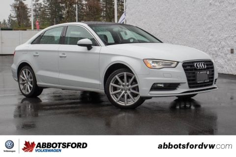 Pre-Owned 2015 Audi A3 2.0T Progressiv NO ACCIDENTS, BC CAR, GREAT CONDITION
