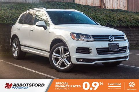Certified Pre-Owned 2014 Volkswagen Touareg Execline ONE OWNER, NO ACCIDENTS, LOCAL CAR!
