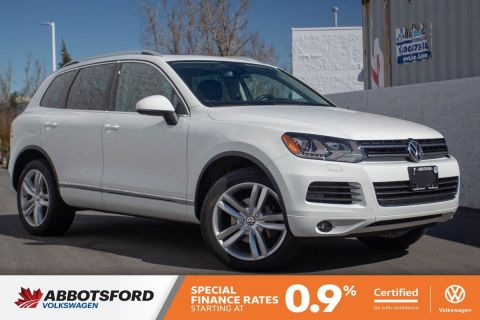 Certified Pre-Owned 2012 Volkswagen Touareg Execline TDI LOCAL, ONE OWNER, FULLY LOADED!