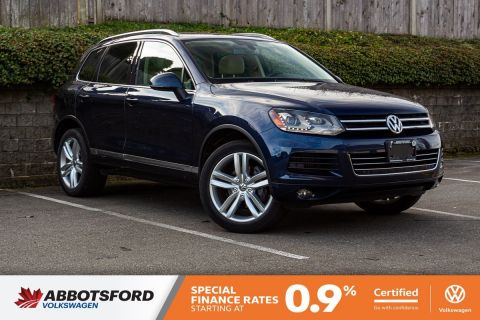 Certified Pre-Owned 2014 Volkswagen Touareg Execline TDI ONE OWNER, NO ACCIDENTS, LOCAL VEHICLE!